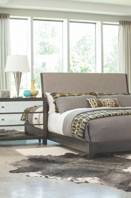 Front Street Upholstered Bed