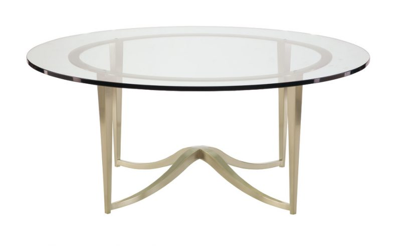 Miramont Round Metal Cocktail Table