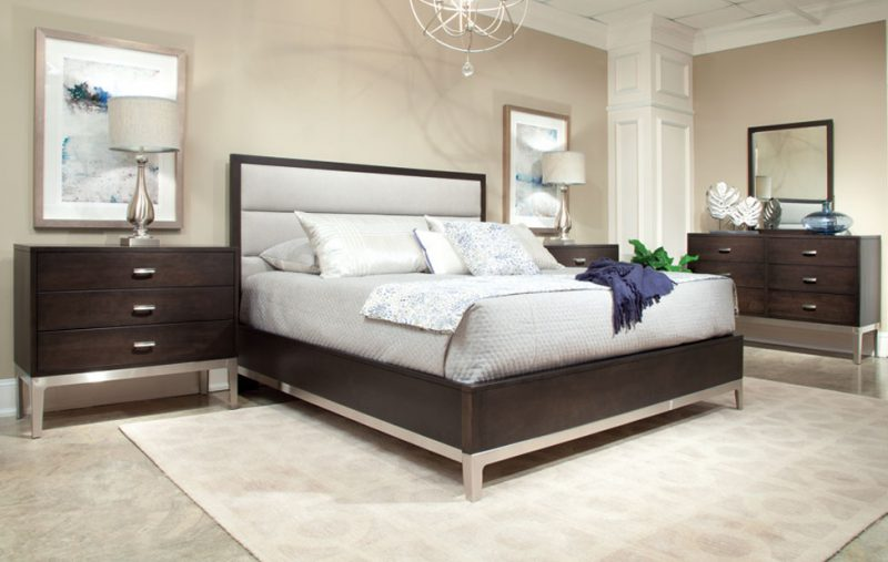 Defined Distinction Upholstered Bed