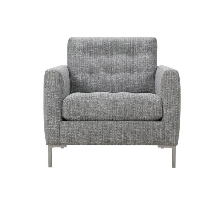 Modern Mix Button Chair