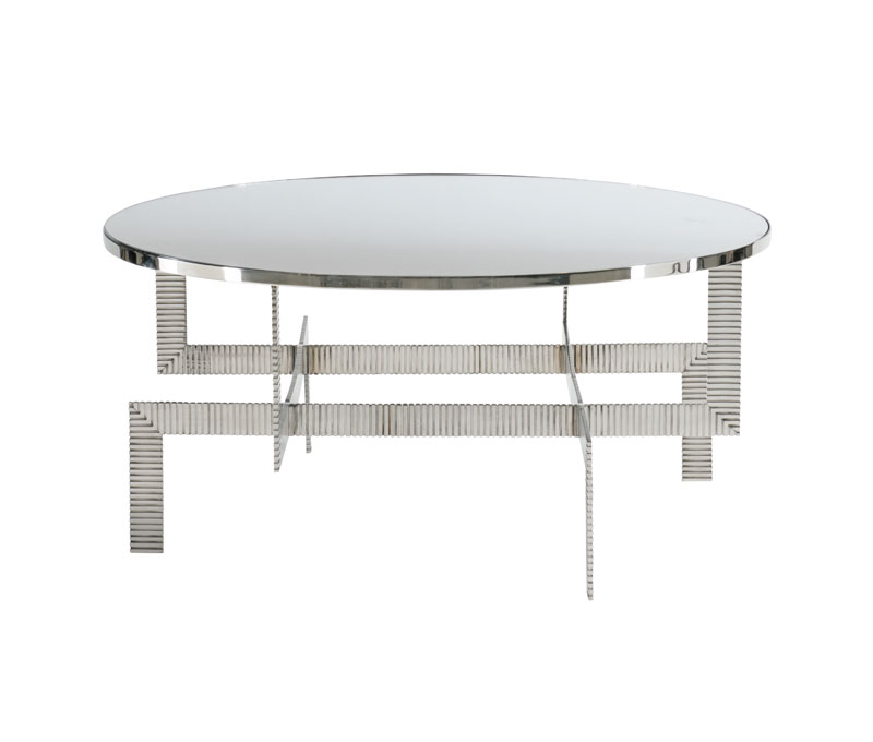 Tyra Round Cocktail Table