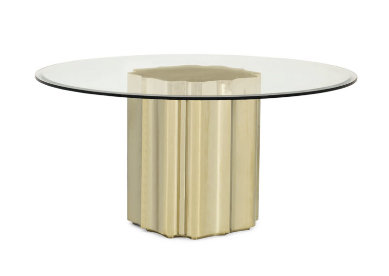 Strike Gold Dining Table