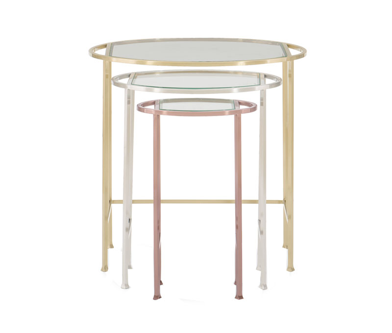 Yours, Mine and Ours Nesting Tables