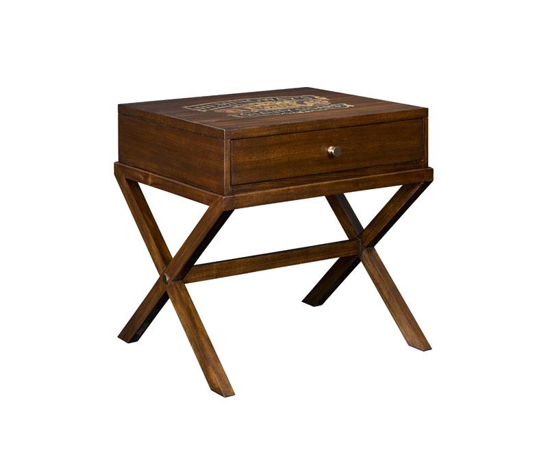 Corona Cigar Box End Table
