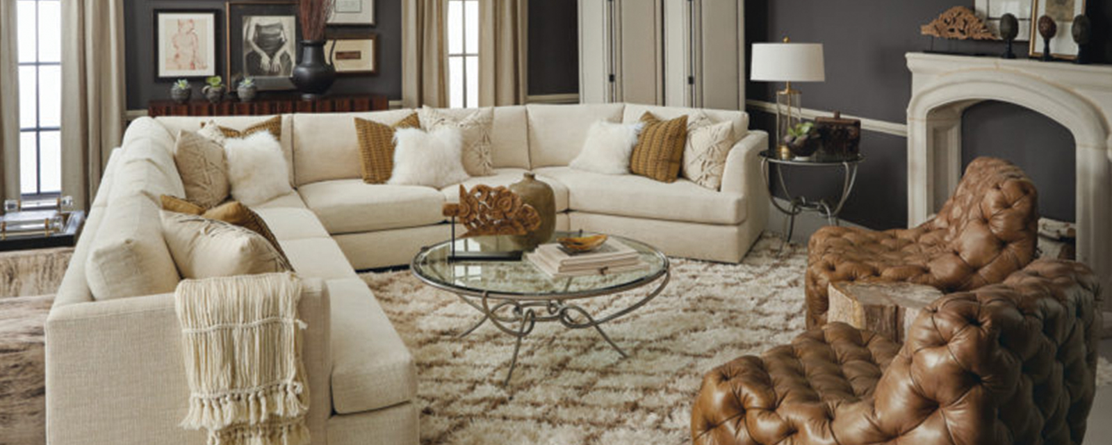 Add a Touch of Glamour with Calgary Living Room Chairs