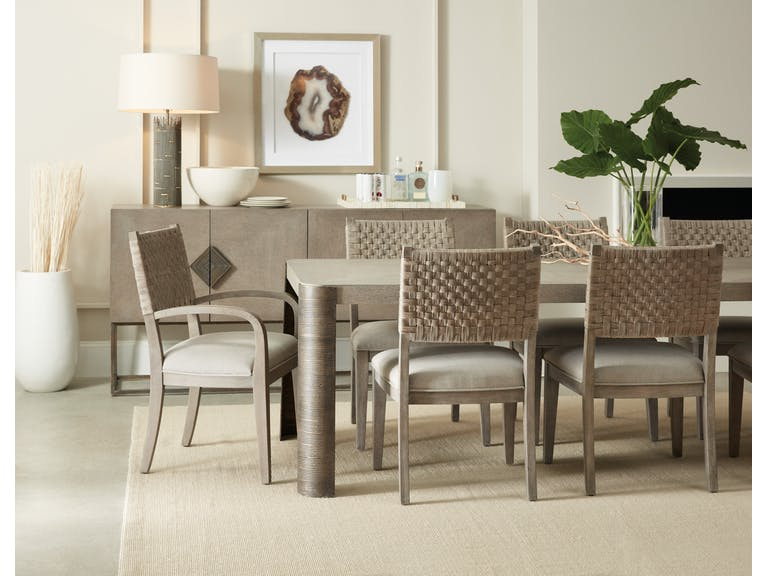 Rosetti 82″ Rectangle Dining Set