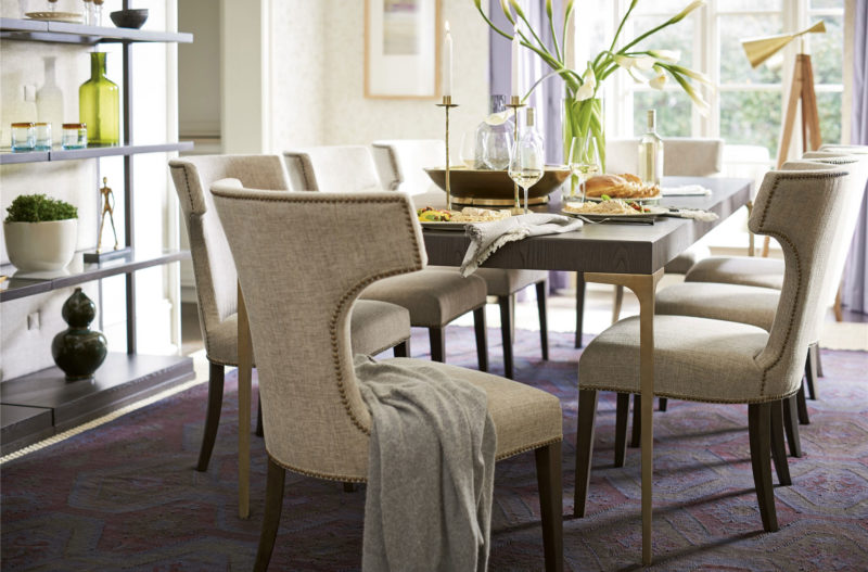 Soliloquy Dining Table & 6 Soliloquy Chairs