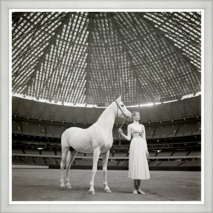 "Vogue Magazine, ""Model with Horse"""