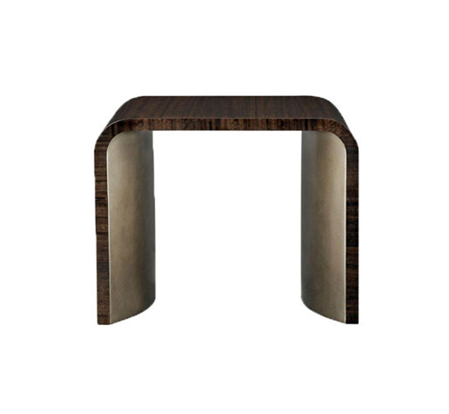 Modern Streamline End Table