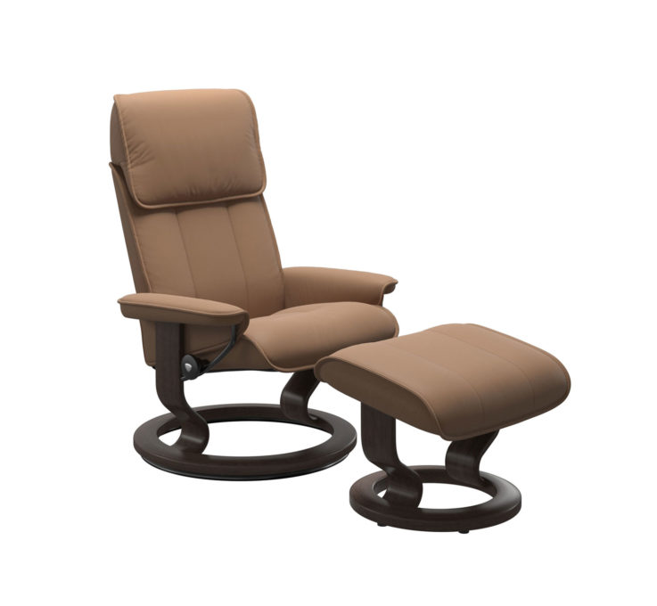 Admiral Recliner Chair with Ottoman