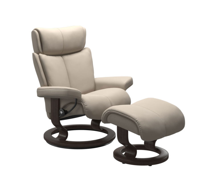 Magic Recliner Chair with Ottoman
