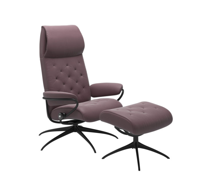 Metro Recliner Chair with Ottoman
