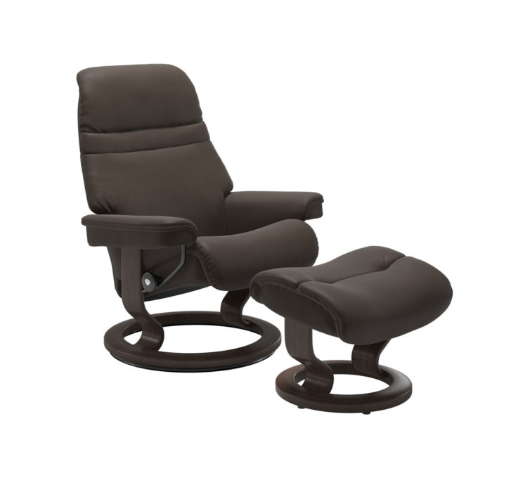 Sunrise Recliner Chair with Ottoman