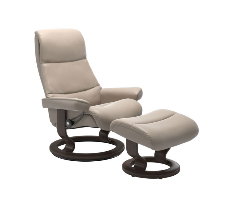 View Recliner Chair with Ottoman