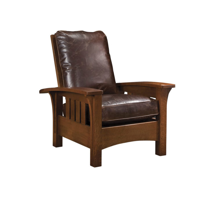 Bow Arm Morris Chair