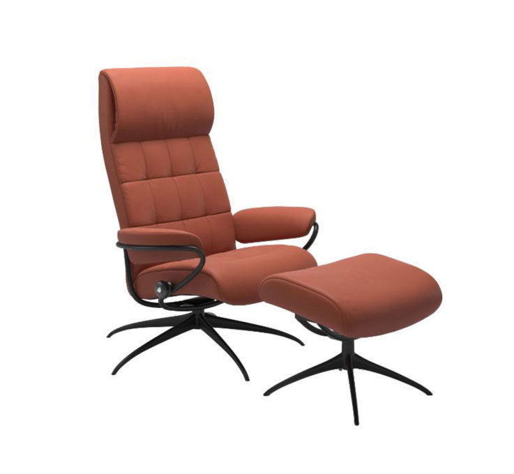 London Recliner Chair with Ottoman