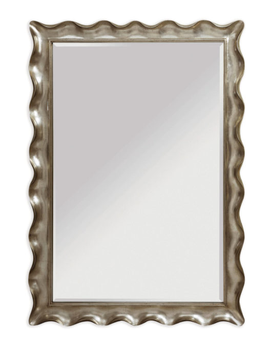 Pie Crust Floor Mirror